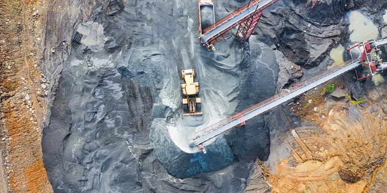 Energia, industria mineraria